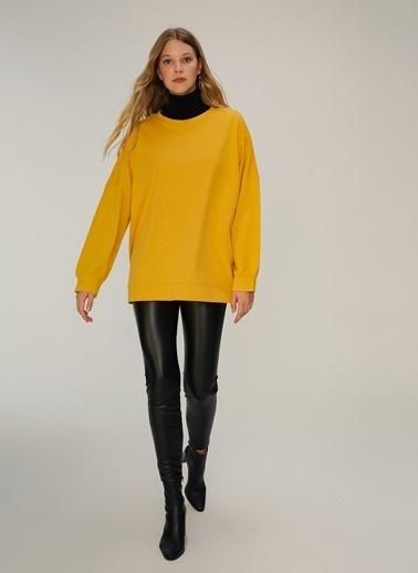 NGSTYLE Oversize Sweatshirt Hardal